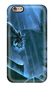 Anti-scratch And Shatterproof Warrior Dark Abstract Dark Phone Case For Iphone 6/ High Quality Tpu Case