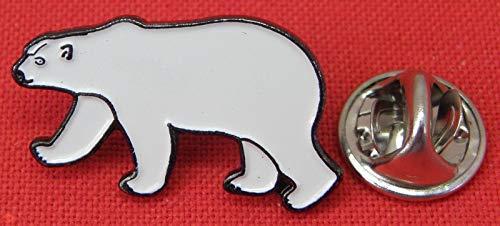 Polar Bear Pin Badge