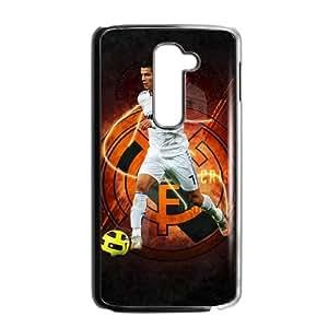 LG G2 Cell Phone Case Black Real Madrid White 001 TV0706995