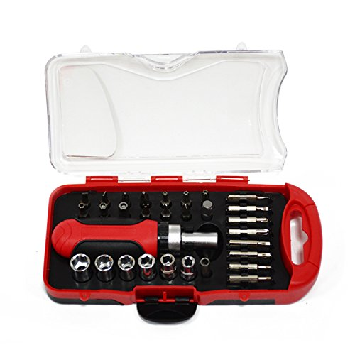 I ordered this and it is a very easy tool to use.  It is made well and the convenient case keeps everything together nicely.  This will now be one of our go to tools