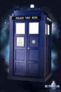 """Doctor Who - TV Show Poster (The New Tardis) (Size: 24"""" x 36"""")"""