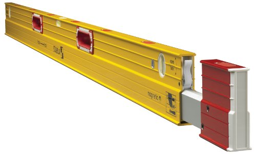 Stabila 34712 Type 106TM Magnetic 7' - 12' Magnetic Level - 12' Plate Level