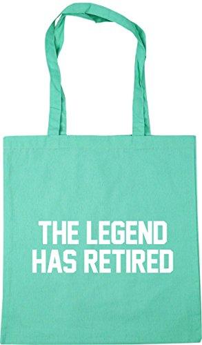 Legend 42cm litres Bag Tote Has Beach Gym Mint HippoWarehouse Retired Shopping The x38cm 10 6n5Ax7zpwq