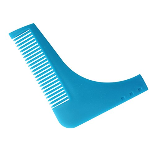 Beard Shaper Comb Beard Shaping Stying Template Comb for Shaving Symmetric Beards Shaping Tool, Styling Template, Facial Hair Grooming Kit Guide for - Styles Facial Hair Popular