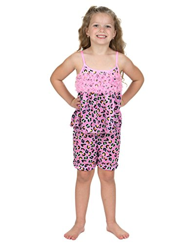 Laura Dare Girls Wild & Free Spaghetti Strap Short Pajamas