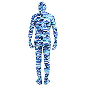 - 41AURKHY2WL - ACE SHOCK Zentai Costume Bodysuit Camouflage, Adult Lycra Spandex Cosplay Full Body Suits