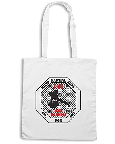 Speed Shirt Borsa Shopper Bianca TAM0201 MMA MIXED MARTIAL ARTS