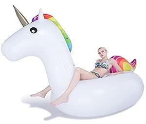 Unicornio colchón inflable piscina hinchable Summer ...