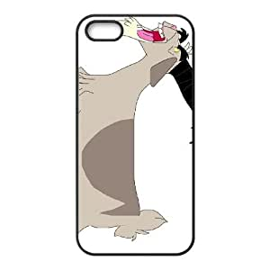 iPhone 5 5s Cell Phone Case Black Disney Home on the Range Character Jeb the Goat 002 OQ7621278