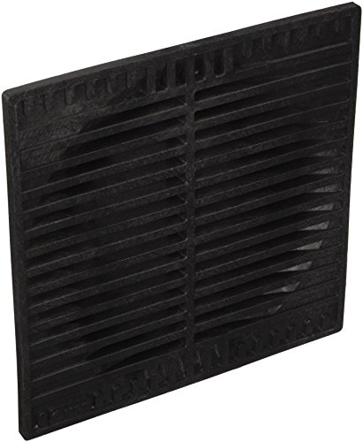 NDS 970 9-Inch Square Grate, Black