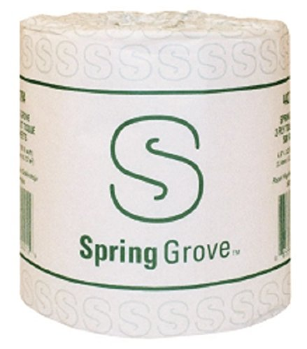 Spring Grove Household Toilet Tissue 96 Rolls per case by Spring Grove ()