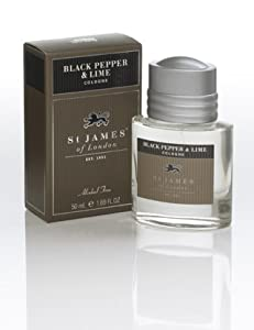St James of London Black Pepper & Lime Cologne by St James of London