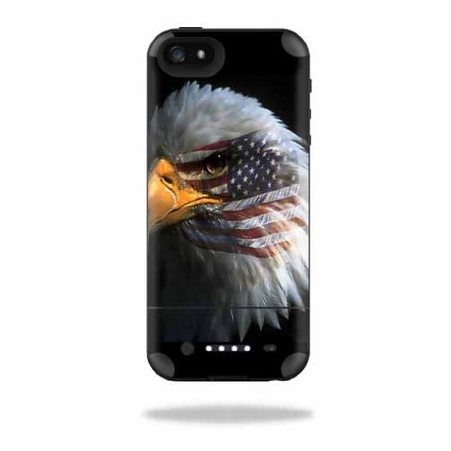 MightySkins Protective Vinyl Skin Decal Cover for Mophie Juice Pack Air iPhone SE/5s/5 Apple iPhone SE/5s/5 Battery Case wrap sticker skins Eagle Eye -  MJAIRIP5-Eagle Eye