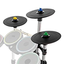 Pro-Cymbals Expansion Kit for Rock Band 4 Wireless Drum Kits for Xbox One and PlayStation 4 - Expansion Drum Kit Edition