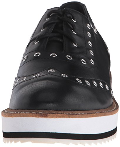 Shellys Londres Womens Winchester Oxford Noir