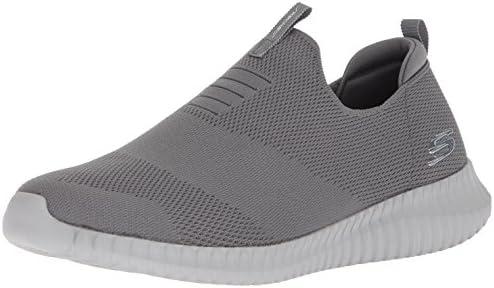 Skechers Herren Elite Flex Wasik Slip On Sneaker, schwarz JbZ2Y