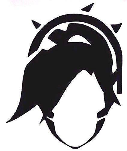 Amazon Overwatch Video Game Mercy Icon Vinyl Stickers Symbol