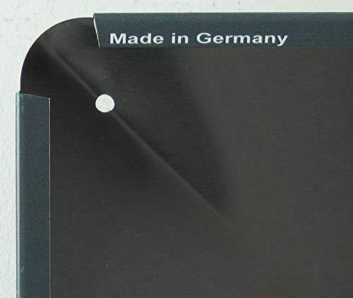 Targa in Metallo 27 x 10 cm bombata BBQ Zone Scritta Decorazione Regalo Scudo