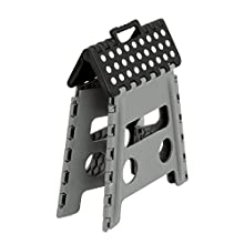 Honey-Can-Do TBL-02977 Folding Step Stool with Anti-Slip Surface, 12.8-Inch