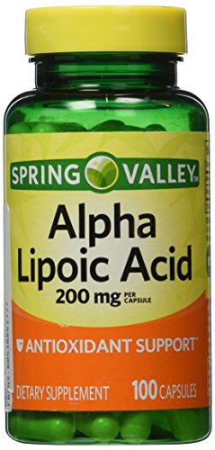Spring Valley - Alpha Lipoic Acid 200 mg 100 Capsules Discount