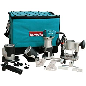 Makita RT0700CX3 1-1/4  Horsepower Compact Router Kit (Discontinued by Manufacturer)