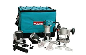 Makita RT0700CX3 1-1/4  Horsepower Compact Router Kit