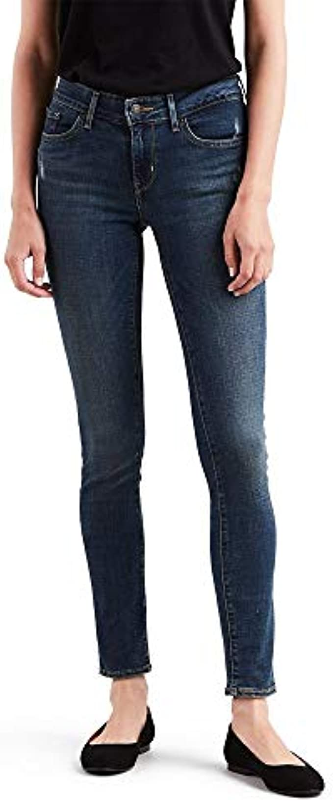 Levi's Women's 711 Skinny Jeans : Color - Indigo Rays, Size - 29 Regular (B07114K1L8)
