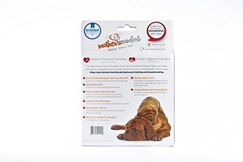 PetZu-Mothers-Comfort-Heartbeat-Pet-Pillow-ChocolateWhite