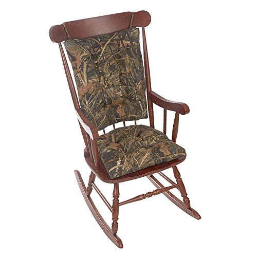 Klear Vu Realtree Rocking Chair Pad and Rocker Seatback Set, 17