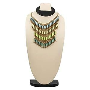 Gempro Women's Alloy Fringe Necklace - JGAC000964