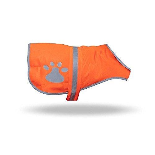 Maggift Dog Reflective Vest,Pet Safety Vest Orange (L)