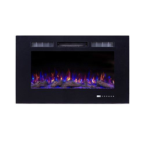 36 electric fireplace logs - 8