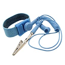 Anti-Static Wrist Strap Grounding Cord with Adjustable Band