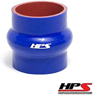 Pressure Silicone 100 Psi Max High Temp 4-Ply Reinforced 350F Max Temperature 3 Length SC-8524-BLK Silicone Coupler Hose Black HPS 2-3//8 ID