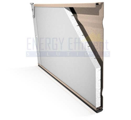 (Garage Door Insulation Kit - 8 Foam Panels)