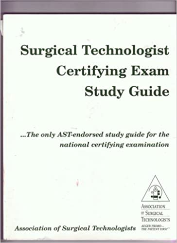 9780926805408: surgical technologist certifying exam study guide.