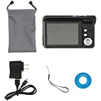 MagiDeal Mini Digital Video Camera 18Mega Pixels 2.7 TFT LCD Display HD Cam Black