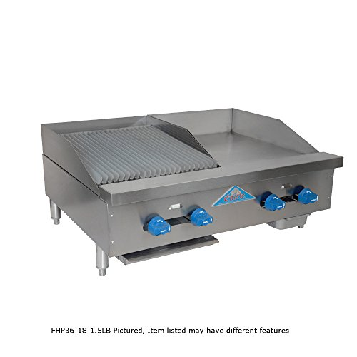 (Comstock Castle FHP54-4.5RB Gas Countertop Radiant Char Broiler)