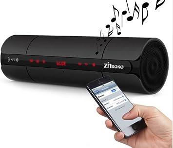 Bluetooth portátil altavoz inalámbrico NFC FM HIFI estéreo ...