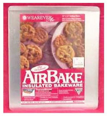 Airbake Ultra by T-fal Insulated Mega Cookie Sheet Dishwasher Safe Bakeware, Silver