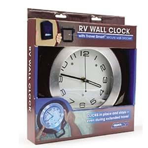 Rv Clock Wall Clock Lock In Rv Wall Clock Camp Cookware