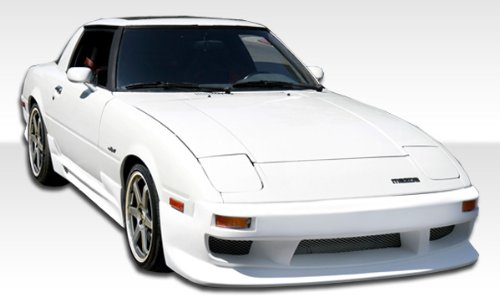 1979-1985 Mazda Rx-7 Duraflex Gp-1 Kit - Includes Gp-1 Front Bumper ( 103638), Gp-1 Sideskirts (103639) and Gp-1 Rear Bumper (103640). - Duraflex Body Kits - Gp1 Front Bumper