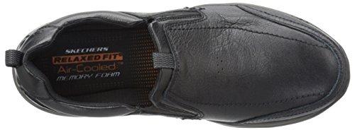 Skechers Usa Manar Corven Slip-on Loafer Svart