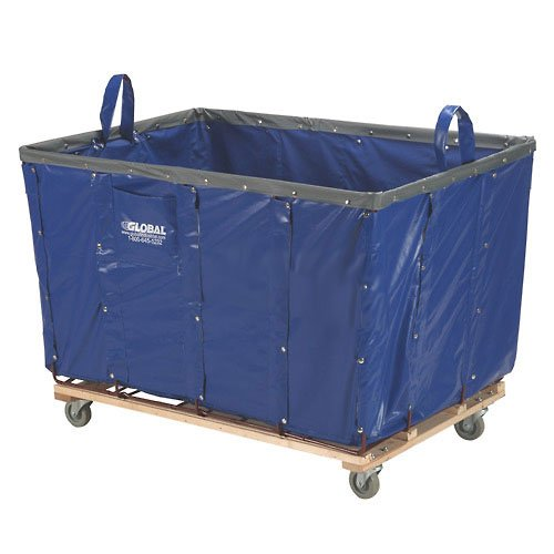 (16 Bushel Blue Vinyl Basket Bulk Truck)
