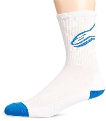 Alpinestars Mens Trainer Socks, Black, Small/Medium