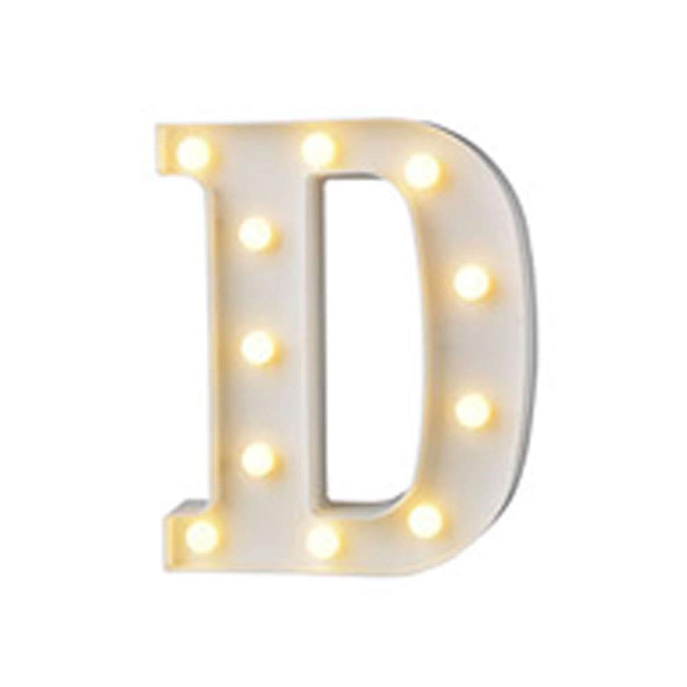 H2okp-009 3D 26 Letra Luz Decorativa 0-9 L/ámpara de Modelado Digital Confesi/ón Luces Decorativas Fiesta Luces de Boda Luces Colgantes de Pared D