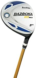Tour Edge Mens Bazooka HT Max 3 Fairway Wood (Men's Left Hand 15 Degree, UST Mamiya Graphite, Regular Shaft)