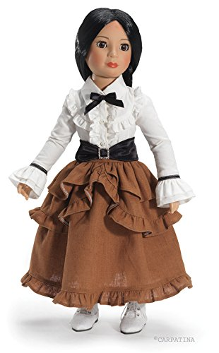 """CARPATINA Camden Station Steampunk Outfit and Shoes For Slim Carpatina or Kidz n Cats 18"""" Dolls 3"""