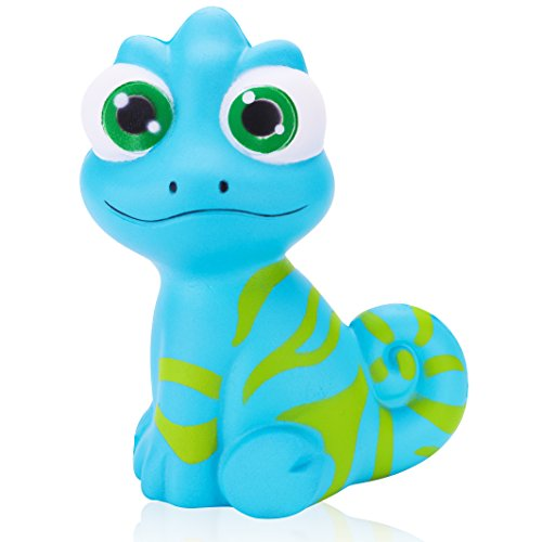 R HORSE Squishy Kawaii Cute Chameleon Cream Scented Squishies Slow Rising Kids Toys Doll Stress Relief Toy Hop Props, Decorative Props Large (Cute Chameleon)