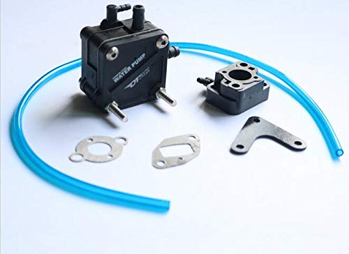 Part & Accessories Water Pump C/W carburetor insulator for ZENOAH RCMK  Engine RC Gas Boat